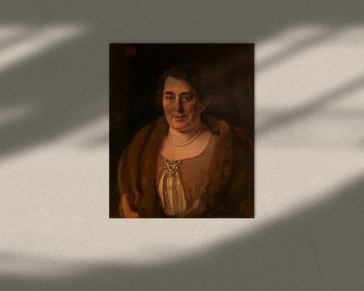 Beispiel: Adèle van Meekren, die zweite Frau von Andries van Wezel, Willem Witsen
