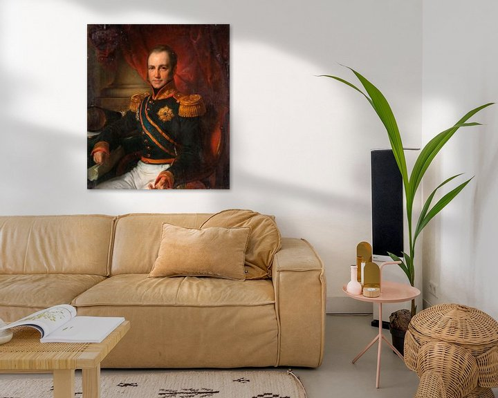Beispiel: Godart Alexander Gerard Philip, Generalgouverneur der Niederländisch-Ostindien, Cornelis Kruseman