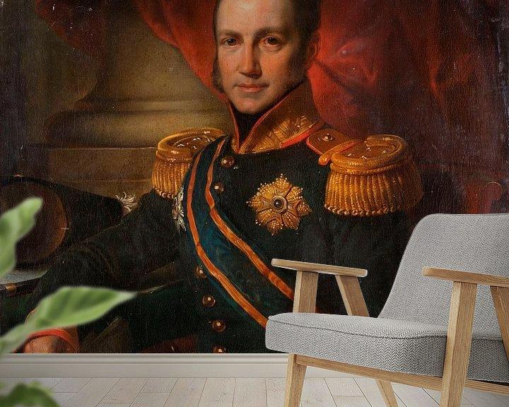 Beispiel fototapete: Godart Alexander Gerard Philip, Generalgouverneur der Niederländisch-Ostindien, Cornelis Kruseman