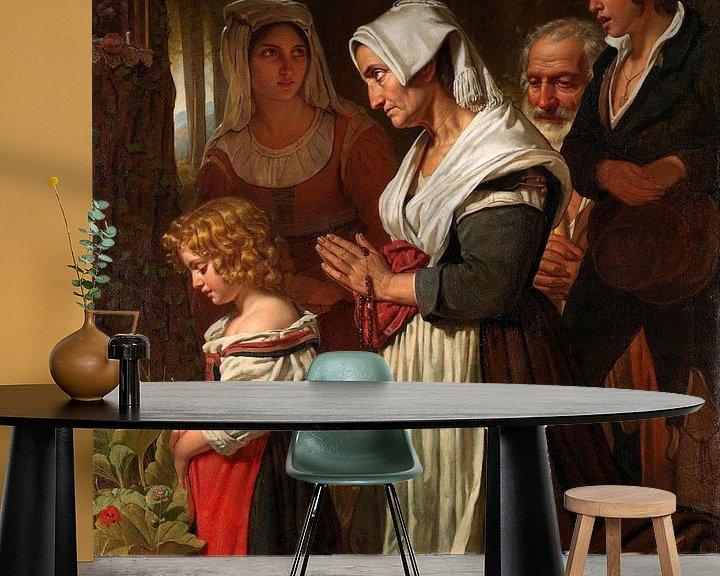 Beispiel fototapete: Frömmigkeit, Cornelis Kruseman