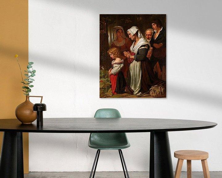 Beispiel: Frömmigkeit, Cornelis Kruseman