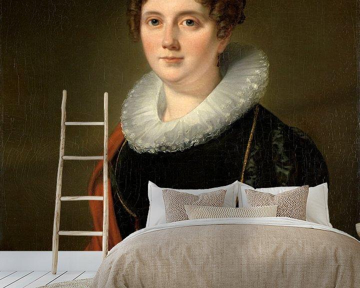 Beispiel fototapete: Marie Allebé-Herckenrath, Cornelis Kruseman