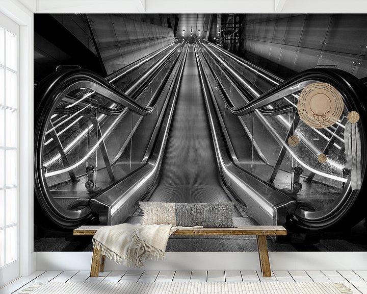 Impression: Escalier roulant sur Reinier Snijders