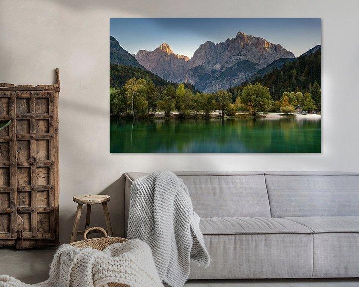 Sfeerimpressie: Jasna Meer, Slovenië van Adelheid Smitt