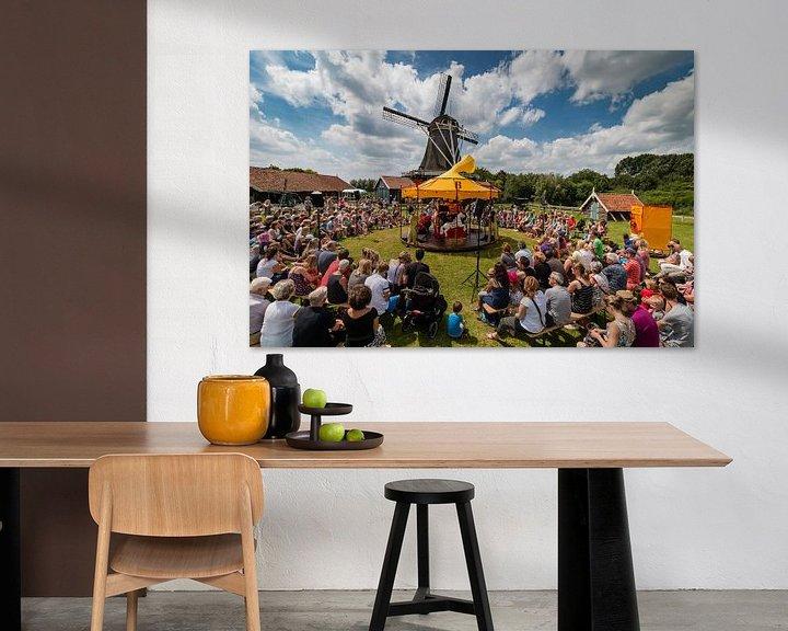 Sfeerimpressie: Bolwerksmolen bij Deventer tijdens een evenement van VOSbeeld fotografie