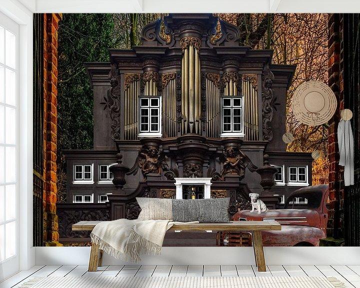 Beispiel fototapete: Haus des Organisten von Harald Fischer