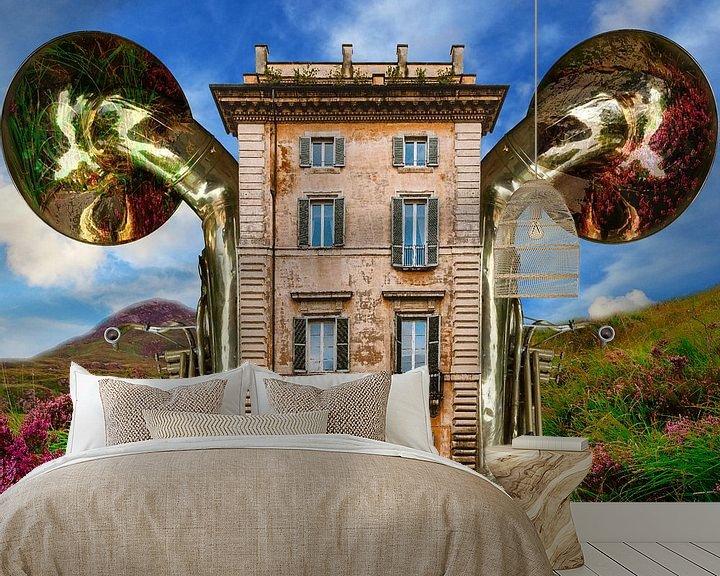 Beispiel fototapete: Haus des Tubisten von Harald Fischer