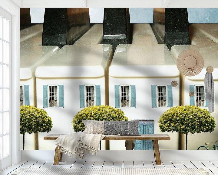 Beispiel fototapete: Haus des Pianisten von Harald Fischer