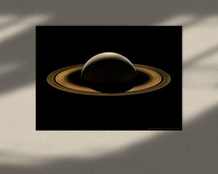 Impression: Saturne, dernière image de la planète sur Atelier Liesjes