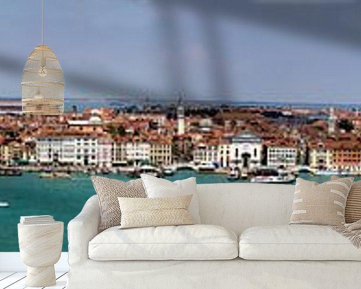 Beispiel fototapete: Panorama der italienischen Stadt Venedig von Atelier Liesjes