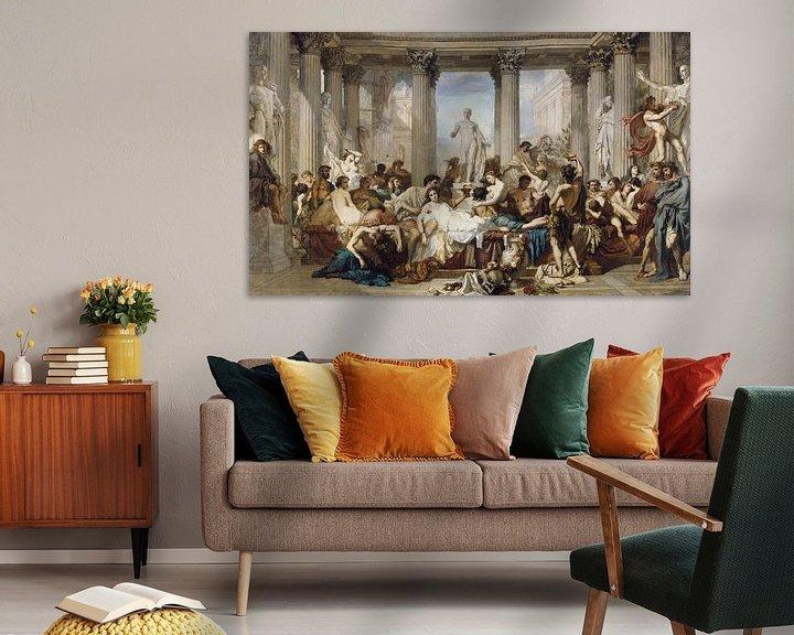 Beispiel: Römer während der Dekadenz, Thomas Couture