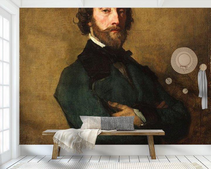 Beispiel fototapete: Paul Barroilhet (1810-1871), Thomas Couture