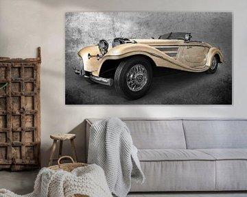 Mercedes-Benz 540 K roadster spécial en chamois antique sur aRi F. Huber