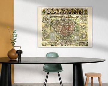 Karte Groningen - 1652