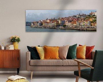 Das Stadtbild von Porto in Portugal