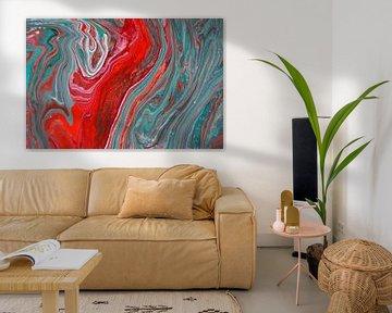 abstracte website van Petrica Stefan