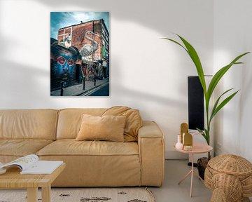 Brick Lane - London van Thijs van Beusekom