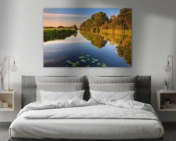 Soirée d'été à Midwolde, Groningen, Pays-Bas sur Henk Meijer Photography