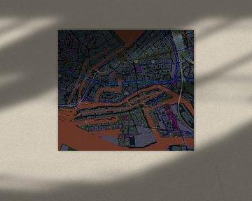Speicherstadt im deutschen Hamburg in der Nähe der Hafencity im negativen Bereich von Atelier Liesjes