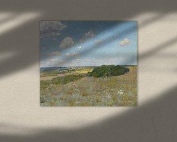 Sonnenlicht und Schatten, Shinnecock Hills, William Merritt Chase