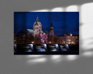 München, Lukas-Kirche an der Isar