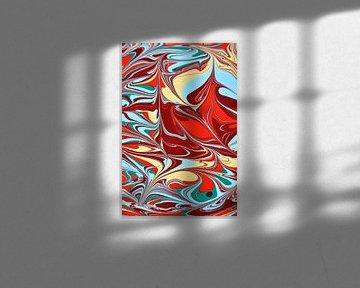 abstracta composé sur Petrica Stefan