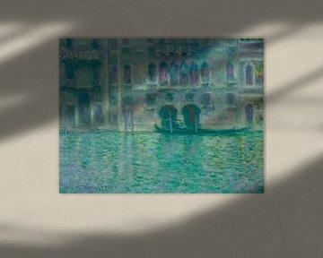 Palazzo da Mula, Venedig, Claude Monet