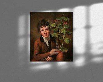 Rubens Peale mit einer Geranie, Rembrandt Peale