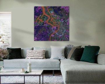 Antwerpen, Karte