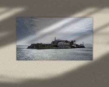 L'île d'Alcatraz sur de Roos Fotografie