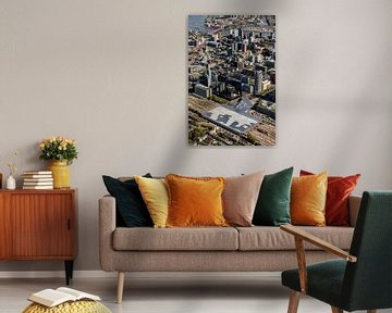 Die Rotterdamer Innenstadt aus der Luft von Guido Pijper