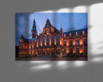 Akademiegebäude, Groningen, Niederlande von Henk Meijer Photography