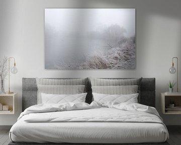 Op de Saale in de mist en de pest van Karina Baumgart