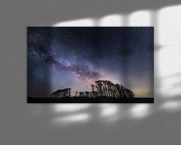 la nuit de la galaxie sur Marcel Hof
