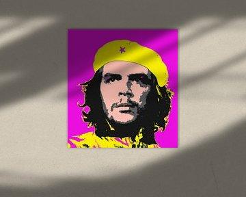Popart-Bild des Revolutionärs Ché Guevara