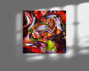 Abstract tot in de perfectie van Walter Zettl