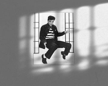 Elvis Presley, Jailhouse Rock, 1957 von Bridgeman Images