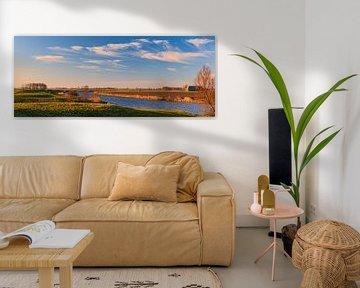 Reitdiep, Groningen, Nederland van Henk Meijer Photography