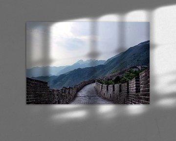 Chinesische Mauer von Johannes Grandmontagne