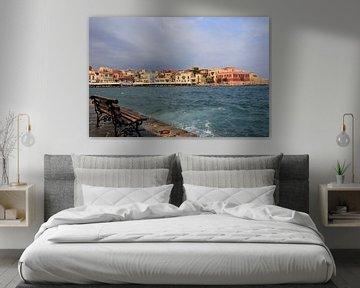 Hafen von Chania, Kreta von Bobsphotography