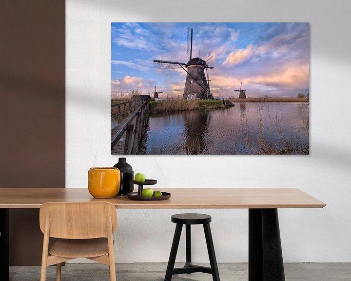 Sfeerimpressie: Kinderdijkse molens van Sander Poppe