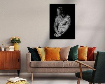 A Man Painted von Marja van den Hurk