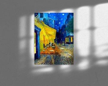Café-Terrasse bei Nacht - Vincent van Gogh -1888