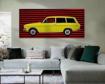 Audi F103 Variant in red & yellow von aRi F. Huber