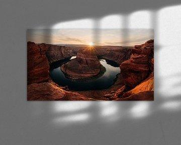 Horseshoe Bend Arizona van Arthur Janzen