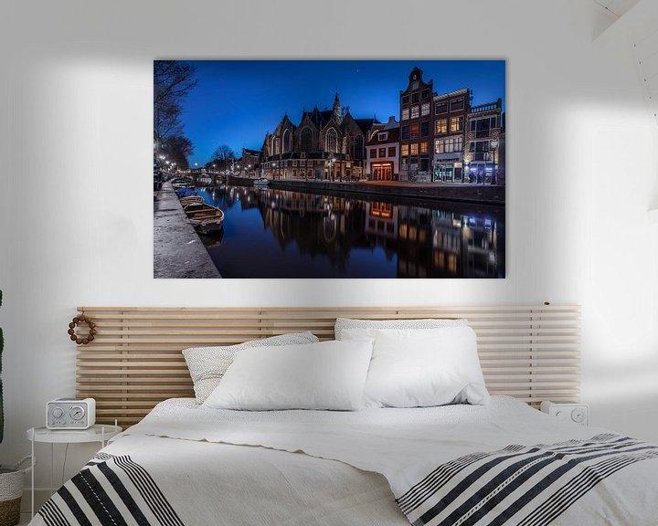 Sfeerimpressie: Amsterdamse Grachten van Mario Calma