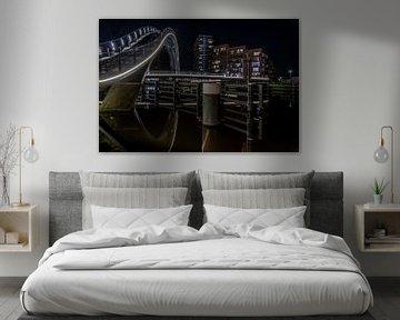 Purmerend, Galaxie-Brücke von Mario Calma