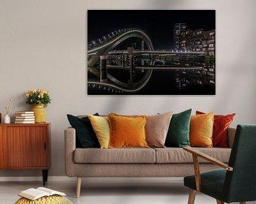Milchstraßenbrücke Purmerend von Mario Calma