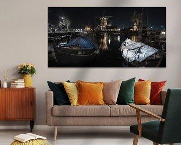 Oude haven van Harderwijk