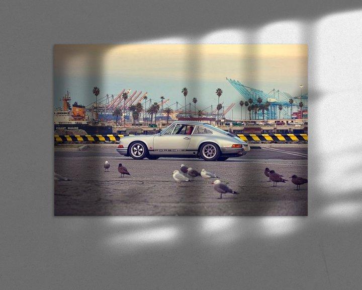 Sfeerimpressie: San Pedro Hot Rod - Porsche 911 van Maurice van den Tillaard